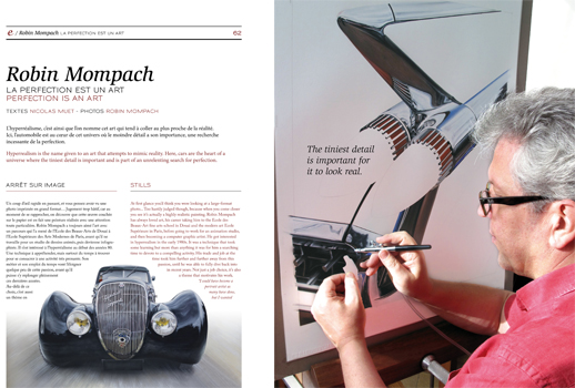 Article dans le magazine Engine