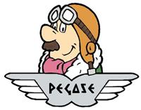 Pégase,personnage d'une série animée de 100 épisodes de 30 secondes